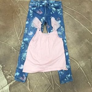 Gap kids jeans and top
